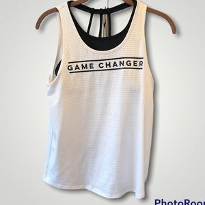 MACY'S Ideology Game Changer Layered-Look Graphic-Print Tank Top
